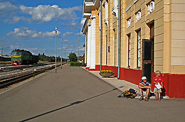 Gulbene trainstation
